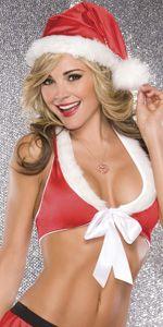 Lycra Santa Hat - #christmas #santa #sexy #sexysanta #noel #xmas #party #whitechristmas #fancydress #costume #fancydresscostume #sparklingstrawberry