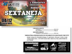 Sextaneja - Extreme (Convite)
