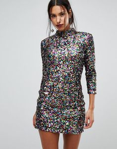 Discover the latest range of party wear at ASOS. From sequins to silk and leather to co-ords, shop today the perfect evening wear outfit available at ASOS. Latest Fashion Clothes, Fashion Dresses, Fashion Online, Pretty Dresses, Beautiful Dresses, Party Wear, Party Dress, Bodycon Cocktail Dress, Cocktail Dresses