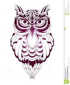 Owl Tattoo - Download From Over 30 Million High Quality Stock Photos, Images, Vectors. Sign up for FREE today. Image: 49781410