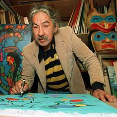 Looking to Norval Morrisseau's art to indigenize Canadian city planning (Part I) - Spacing National Native American Artists, Canadian Artists, Art Inuit, Ontario, Style Tribal, Tribal Art, Woodlands School, Native Canadian, Woodland Art