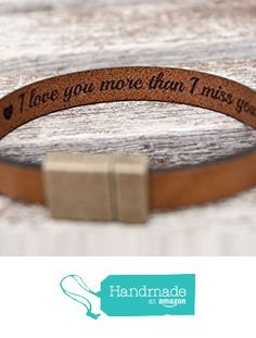 Hidden Secret Message Leather Bracelet Personalized With Custom Quote Date Or Coordinates Strong Hypoallergenic Magnetic Clasp From Begenuine