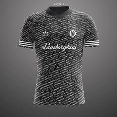 "#Repost Nice Chelsea Lamborghini concept from @xztals  @chelseafc x @adidasnmd x @lamborghini - Chelsea ""3 stripe"" away kit concept  #whatif #concept #chelsea #london #adidas #football #soccer #nmd #design #premierleague #bpl #design #thebrandwiththethreestripes #cfc #footballshirtcollective #football #footballshirt"