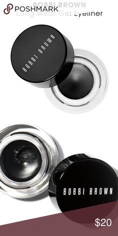 Brand New - Black long-wear gel eyeliner NIB Bobbi Brown - Black Ink 1 - long wear gel eyeliner **Brand New**Never used** Bobbi Brown Makeup Eyeliner