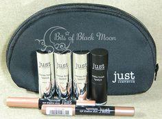 ★ Bits Of Black Moon ★ EcoBio Blog: Just Cosmetics - rossetti e ombretti / szminki i c...