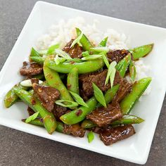Sichuan-Style Orange Beef with Sugar Snap Peas Recipe - Cooks Country -- Just make sure to use GF soy sauce and you're all set! Szechuan Recipes, Asian Recipes, Asian Foods, Chinese Recipes, Hot Pot, Chinese Beef Dishes, Chinese Food, Tofu, Snap Peas Recipe