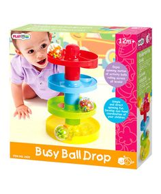 Another great find on #zulily! Busy Ball-Drop Set by Playgo #zulilyfinds