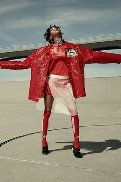 """willowlover: """" Willow Smith for Teen Vogue. Teen Vogue, Teen Fashion, High Fashion, Womens Fashion, Editorial Photography, Fashion Photography, Images Murales, Mode Editorials, Monochrom"""