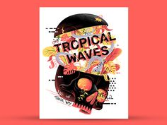 """""""Spidey Vs Venom, Tropical Waves, Russia 2077 and more… Weekly inspiration roundup!"""" is published by Muzli in Muzli - Design Inspiration. Superhero Cartoon, Logo Reveal, Tropical, Graphic Design Print, Pretty Designs, Wave Design, Creative Photos, Visual Communication, Book Cover Design"""