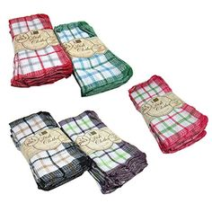 Better Home Dish Cloths, Colors May Vary, Inch Kitchen Dishes, Dining Table In Kitchen, Accessories Store, Kitchen Accessories, Kitchen On A Budget, Dish Towels, Better Homes, Table Linens, Household Items
