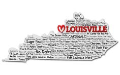 No matter where I go, louisville will always be home. I should print and frame this for our home!