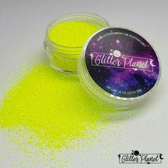 Glitter Planet - Neon iridescent yellow glitter. Samantha Elder · nails  supplies 150a74ee1fd1