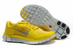 quality design b7bd3 b62b5 2012 Nike Free Run 5.0 V3 Men Shoes Yellow Silver Running Shoes For Men,  Discount