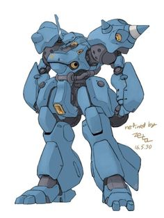 Kämpfer. The illest cyclops mobile suit that zeon ever had.