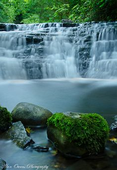 Glencar waterfall in county Leitrim, Ireland