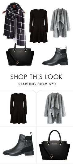 """Bez tytułu #3"" by magda-krupska on Polyvore featuring moda, DKNY, Chicwish, Topshop i MICHAEL Michael Kors"
