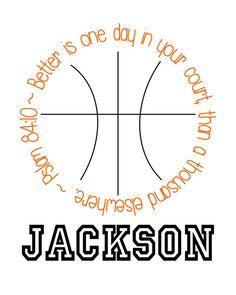 Basketball Printable by KJInspirations on Etsy, $10.00