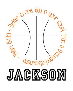 Basketball Printable by KJInspirations on Etsy, $10.00