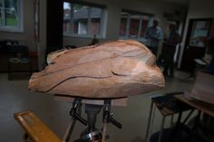 Exeter Wood Carvers, In Progress, Wood Carving, rabbit, John Scott