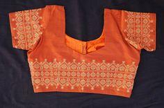 Kasuti - Orange Choli