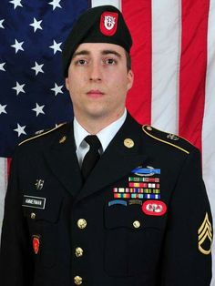 Matthew R. Ammerman died in combat in Zabul province, Afghanistan, last week. His survivors include his wife Emily, his mother and his brother. (via The Indianapolis Star) Special Force Group, Remember The Fallen, Military Veterans, Military Ranks, Vietnam Veterans, Lab, Army Infantry, Fallen Heroes, Fallen Soldiers