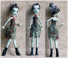 Monster High hand made Dress Monster High clothes by MonstersNight, $15.00