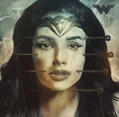 Wonder Woman I Movie Poster I Rafal Rola