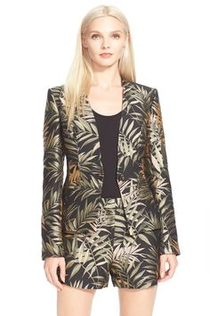Zakia Palm Print Jacquard Suit Jacket by Ted Baker London on @nordstrom_rack