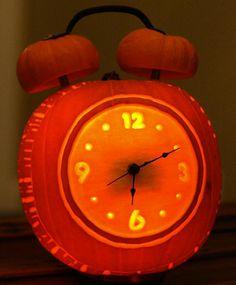 Clock Pumpkin.