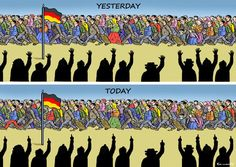 REFUGEES WELCOME IN GERMANY