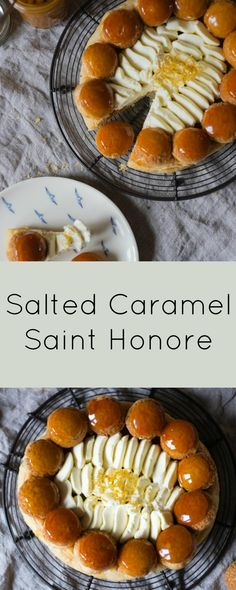Salted Caramel St Honore - Giveaway - Patisserie Makes Perfect