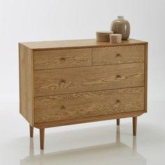 Commode vintage 4 tiroirs Quilda La Redoute Interieurs prix Commode La Redoute 479.30 € TTC au lieu de 598.50 €