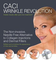 20 minute treatment The non-invasive, needle free alternative to collagen injection and dermal fillers is here! Wrinkle Revolution uses the caci award winning Amino Lift Peptide Complex, along side crystal free microdermabrasion and electrical stimulation incorporated LED light therapy, which will instantly plump lines and wrinkles from the very first treatment.