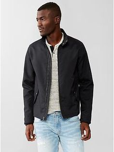 Blue Harrington Jacket from Next | Men's Fashion | Menswear ...