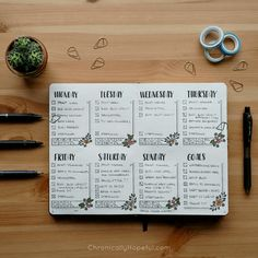 Bullet Journal – June Layout And Mid-Year Flip Through Bullet Journal October, Bullet Journal Key, Bullet Journal Cover Page, Bullet Journal Themes, Bullet Journal Layout, Bullet Journals, Memoir Writing, Weekly Spread, Planner Organization