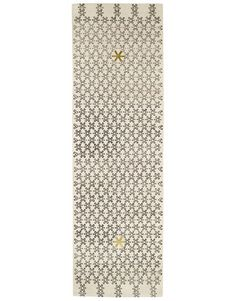 star pattern silver rug runner - Doug and Gene Meyer for Niba Rug Collections