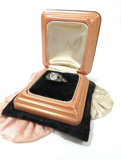 Art Deco Wedding Engagement Ring Box by UrbanRenewalDesigns