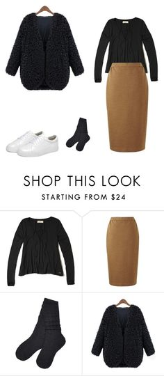 """Untitled #19"" by explorer-14499351471 on Polyvore featuring Hollister Co., Uniqlo, UGG and WithChic"