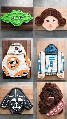 Sure, you could be a padawan and make a cupcake of your favorite Star Wars character, OR you could go full Jedi and use over a dozen cupcakes to design a masterpiece.