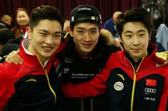 Men SP Conference - Team China!!! - Yan Han, Song Nan, Jin Boyang