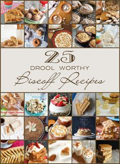 creating nifty, thrifty and creative things Biscoff Cookie Butter, Biscoff Cookies, Butter Cookies Recipe, Cookie Desserts, Just Desserts, Delicious Desserts, Yummy Food, Yummy Recipes, Biscoff Recipes