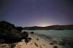 Noche en Playa Balandra