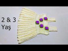 Slip Stitch Crochet, Crochet Baby, Free Crochet, Knitting Patterns, Crochet Patterns, Crochet Bikini Pattern, Baby Vest, Crochet Videos, Alter