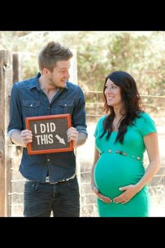 """Ok since both my brothers are going to be deployed when my sister-in-laws get that big i would have to doctor it together a bit but think it would be cute. Them standing in Afganistan with a sign that said """"I did that"""" :D #PregnancyPhotos"""