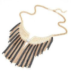 fashion necklaces for women 2014 NEW Long Tassel Wings Statement #necklaces #p #jewelry ...