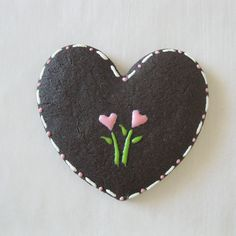 Chocolate Sugar Cookie ~ Lightly Decorated ~