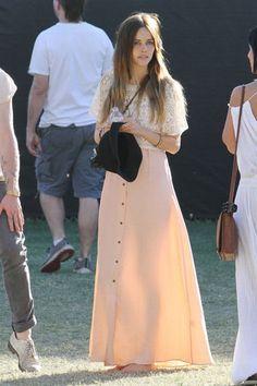 Isabel Lucas at #Coachella Fest 2011.