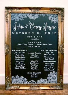 1000+ ideas about Wedding Program Sign on Pinterest | Wedding ...