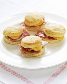 Yeast makes these biscuits light and airy. Add a smear of Brooke's Mustard Dip and a slice of country ham for a delicious breakfast sandwich.