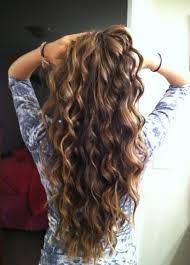 Image result for types of perms for long hair with pictures